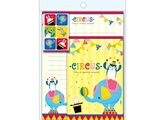 Letter set No32 CIRCUS, 5.9 × 7.5 × 0.2 in, 10 pkg