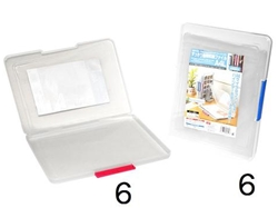 Document case for A4(8.27 x 11.69 in) paper, product size: 9.96 x 12.48 x 1.06 in ,12pks