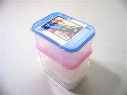 3pcs, plastic food containers ,16pks