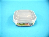 Stainless steel food container, 4.13 x 4.13 x 1.5 in ,12pks