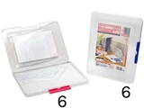 Document case for A4(8.27 x 11.69 in) paper, product size: 9.25 x 12.08 x 0.9 in ,12pks