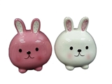Coin Bank Round Rabbit ,18pks