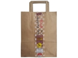Craft paper shopping bag S, 3 bags ,12pks