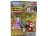 Funny eraser, zoo of the forest ,30pks