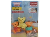 Funny eraser, doll of animal ,30pks