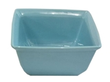 Square bowl blue