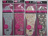 Flower pattern insole for women ,12 pks