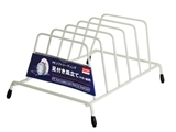 PE soft coated dish rack for small dish, 8.3 × 5.5 × 3.7 in, 8pks
