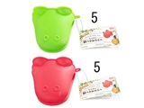 Silicone pot holder frog, 4.6 x 3.54 in,10pks