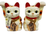 Lucky cat ornament  Height20cm(7.8 in), 16pks