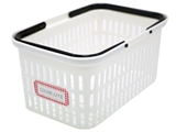 Basket with handles, 6.9 × 10.3 × 4.8 in, 13pks