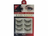 Eyelash value pack 3pairs E01, 10pcs