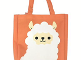 Tote Bag -alpaca-, 9.84 x 9.84 x 1.96 in, 18pks