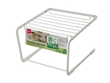 Stackable wire dish rack 6.3x6.3x4.1in, 12pks