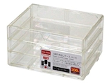 3 drawers case, 5.1 × 6.7 × 3.7 in, 8pks