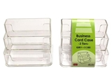 Business card case, 4.21 × 3.11 × 3.14 in, 12pks