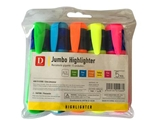Jumbo highlighter set 5 colors