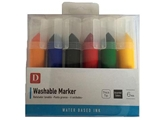 Washable marker set