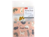 Petite letter set, cat, 4.7 x 3.3 in ,12pks