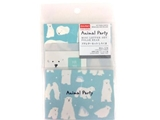 Petite letter set, polor bear, 4.7 x 3.3 in ,12pks