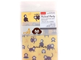 Petite letter set, monkey, 4.7 x 3.3 in ,12pks