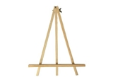 Wooden easel, large, 8pks