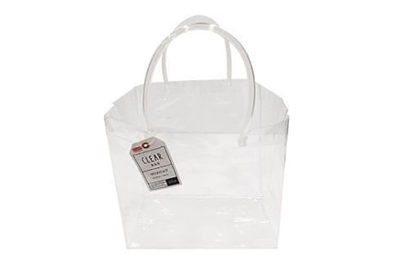 Clear Bag With Handle