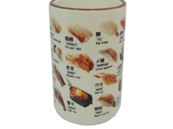 Cup Sushi printed ,30pks