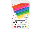 Color cellophane sheet