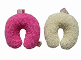 Neck pillow rose boa