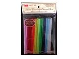 Mixed color pipe cleaner -short - 100 pcs. - approx. 4mm x 15cm - 0.2 x 5.9 in-