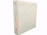 1.5 inch 3 ring binder. white