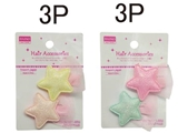 Hair clip for kids -shiny star - 2 pcs.-