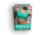 Sports Seemless Bra Green M