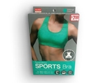 Sports Seemless Bra Green L
