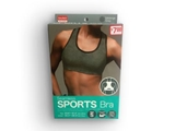 Sports Seemless Bra Grey S