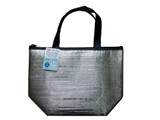 Thermal aluminum tote bag