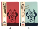 Disney A6 hard cover notebook