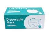 Disposable face mask ($0.27/count), 50 pcs, 1pk