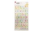 Schedule stickers, health, 3.8 x 6.7 in, 12pks