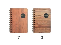 A6 double spiral notebook