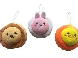 Animal bath sponge 4 in