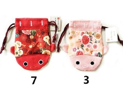 Drawstring pouch Goldfish  small