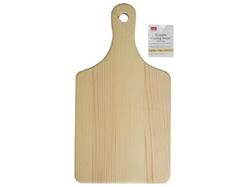 Wooden Cutting Board W Handle 57 X 11 In 10pks