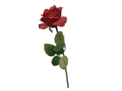 Artificial flower, red rose