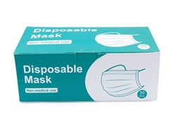 Disposable face mask,