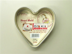 Japanese Silicone Cake Mold Heart DAISO JAPAN